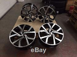 18 2016 Golf Gti Clubsport Style Roues Alliage pour VW Mk5 6 7 Jetta 5573 A