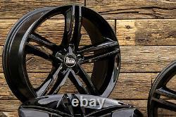 18 Pouces Jantes A1 Pour VW Golf 7 6 5 Gti GTD Plus Sportsvan Noir ET42 ABE