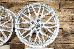 18 Pouces Jantes RW01 Pour VW Passat B6 B7 B8 3C 3G Touran 1T ET45 Argent 5x112