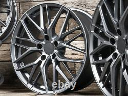 18 Pouces Jantes RW01 Pour VW Passat B6 B7 B8 3C 3G Touran 1T ET45 Mat Gris