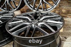 19 Pouces Jantes RW01 Pour VW Golf 7 6 5 Gti GTD Plus Sportsvan Gris ET45 ABE