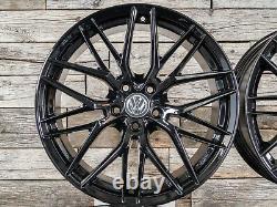19 Pouces Jantes RW01 Pour VW Golf 7 6 5 Gti GTD Plus Sportsvan Noir ET45 ABE