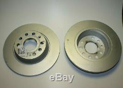 2 Pièces Original VW Disques de Frein Recouvert Arrière 1k0615601ad