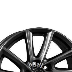 4 Jantes Borbet VT 7.5x17 ET52 5x112 ANT pour VW e-Golf Golf Jetta Touran