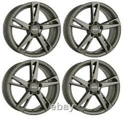 4 Jantes Carmani 16 Anton 7.5x17 ET47 5x112 HYP pour VW Beetle Caddy Eos Golf Pl