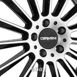 4 Jantes Carmani 17 Fritz 8x19 ET43 5x112 SWP pour VW Arteon Beetle Eos Golf Plu