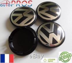 4 centres de roue 70mm emblème volkswagen cache moyeu VW NEUF 70 mm envoi suivi