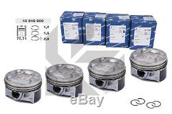 4x Piston Pièce Kolbenschmidt 40846600 Skoda VW Audi Seat 1,4 TSI Mesure