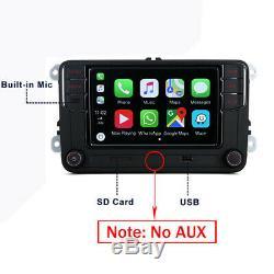 6.5 Autoradio RCD330 CarPlay 280 187B BT Pour VW Golf 5 6 Polo Tiguan Passat CC