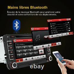 7Autoradio 2din GPS DVD Bluetooth for VW GOLF 5 Plus PASSAT TOURAN TIGUAN POLO