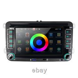 7 Autoradio GPS Wifi Pour VW Golf Polo MK5 6 PLUS Passat 3C Skoda Seat Leon EOS