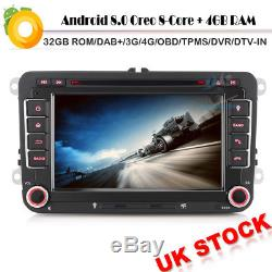 8-Core Android 8.0 Autoradio DVD GPS DAB+BT Navi for SKODA Octavia Yeti Patrick