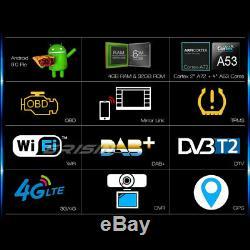 9Android 9.0 GPS Autoradio DAB+ For VW Passat Seat Golf Jetta Touran TNT 4G SWC