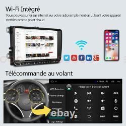 9 AUTORADIO Stéréo Android 9.1 GPS NAVI RDS +Caméra For VW GOLF 5 6 Touran Polo