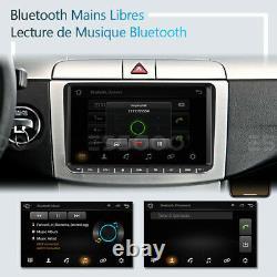 9 AUTORADIO Stéréo Android 9.1 RDS GPS NAVI 2 DIN For VW GOLF 5 6 Passat Touran