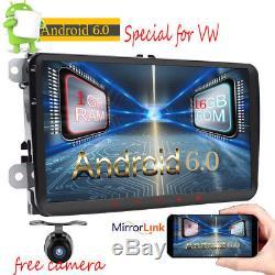 9 Android 6.0 Autoradio GPS Radio For VW Golf Passat CC Polo Tiguan Touran DAB+