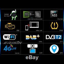 Android 8.0 DAB+Autoradio For VW Seat Skoda Golf Polo Leon EOS CD DVR TPMS 7848F
