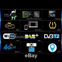 Android 8.1 GPS Autoradio DAB+For VW Passat Seat Golf 5 6 Jetta Touran Bluetooth