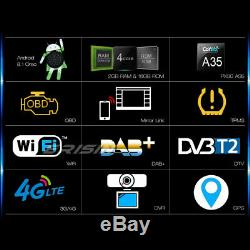 Android 8.1 GPS DAB+ Autoradio TNT OPS VW Passat Golf Polo EOS Tiguan Seat Skoda
