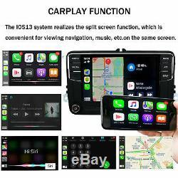 Autoradio Carplay Android Auto RCD360 187B BT Pour VW Golf 5 6 Polo Jetta Tiguan