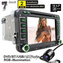 Autoradio GPS USB DVR RDS Bluetooth DVD For VW TOURAN T5 Multivan Transporter V