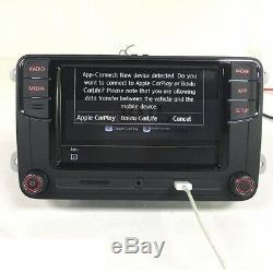 Autoradio RCD330+ Carplay, Android Auto, BT, AUX, RVC VW GOLF TOURAN TIGUAN POLO EOS
