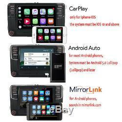 Autoradio RCD330 Carplay, Android Auto, BT, AUX, RVC pour VW GOLF TOURAN TIGUAN POLO
