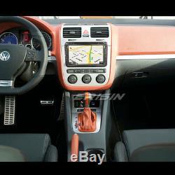 DAB+Autoradio Android 8.1 GPS DVD PASSAT GOLF 5/6 TIGUAN Touran Bora SEAT Skoda