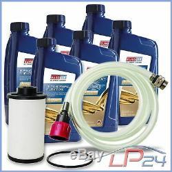 Filtre Hydraulique + 6l Huile Boîte Automatique Audi A3 8p 1.4-3.2 S3 03-13