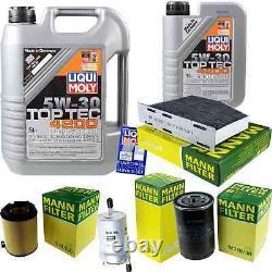 Filtre Set De +5W30 huile moteur Pour VW Golf V 1K1 Plus 5M1 521 2KB 2KJ 2CB 2CJ