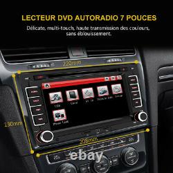 For VW GOLF 5 Plus PASSAT TOURAN TIGUAN POLO 7Autoradio 2 din GPS DVD Bluetooth