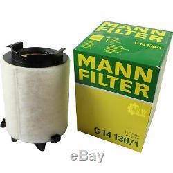 Huile Moteur 5L Mannol 5W-30 Break Ll + Mann-Filter Filtre Filtre VW Touran 1T3