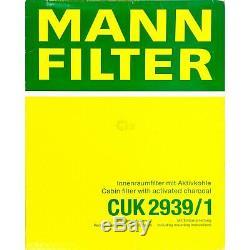 Huile Moteur 5L Mannol 5W-30 Break Ll + Mann-Filter Filtre VW Touran 1T1