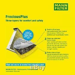 Huile Moteur 5L Mannol 5W-30 Break Ll + Mann-Filter Filtre VW Touran 1T1 1T2 1.4