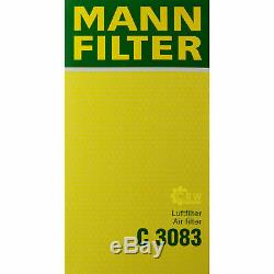 Huile Moteur 5L Mannol 5W-30 Break Ll + Mann-Filter Filtre VW Touran 1T1 1T2 1.6