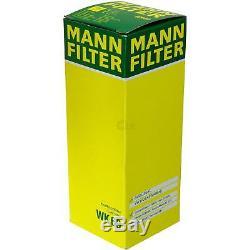 Huile Moteur 5L Mannol 5W-30 Break Ll + Mann-Filter Filtre VW Touran 1T3 1.2 TSI