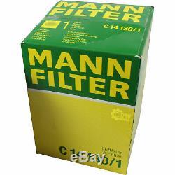 Huile Moteur 5L Mannol 5W-30 Break Ll + Mann-Filter Filtres à VW Touran 1T3 1.2