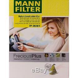 Huile Moteur 5L Mannol 5W-30 Break Ll + Mann-Filter VW Golf Plus 5M1 521 1.6 Tdi