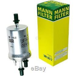 Huile Moteur 5L Mannol 5W-30 Break Ll + Mann-Filter VW Golf Plus de 5M1 521 1.6