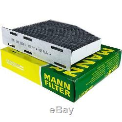 Huile Moteur 5L Mannol 5W-30 Break Ll + Mann-Filter VW Touran 1T1