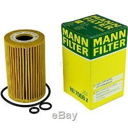 Huile Moteur 5L Mannol 5W-30 Break Ll + Mann Filtre Luft VW Golf Plus 5M1 521