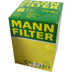 Huile Moteur 5L Mannol Classic 10W-40 + Mann-Filter Filtre VW Touran 1T3