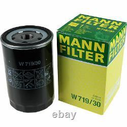 Huile Moteur 5L Mannol Diesel Tdi 5W-30 + Mann-Filter Filtres à VW Golf Plus 5M1