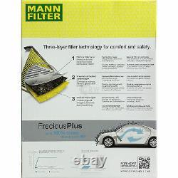 Huile Moteur 5L Mannol Diesel Tdi 5W-30 + Mann-Filter VW Golf Plus 5M1