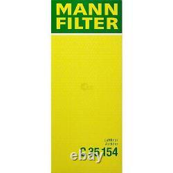 Huile Moteur 5L Mannol Diesel Tdi 5W-30 + Mann-Filter VW Touran 1T1