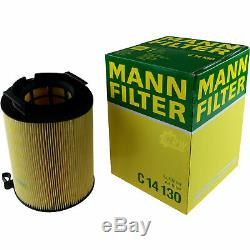 Huile Moteur 6L Mannol 5W-30 Break Ll + Mann Filtre Luft VW Golf Plus 5M1