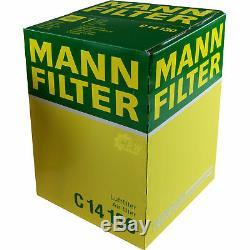 Huile Moteur 6L Mannol 5w-30 Break Ll + Mann-Filter Filtre VW Golf Plus 5m1 521