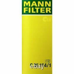 Huile moteur 5L MANNOL 5W-30 Break Ll + Mann-Filter VW Golf Plus 5M1