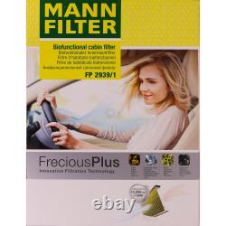 Huile moteur 5L MANNOL Classic 10W-40 + Mann-Filter filtre VW De Golf Plus 5M1