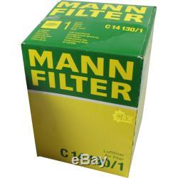 Huile moteur 5L MANNOL Classic 10W-40 + Mann Filtre Luft VW Golf Plus 5M1